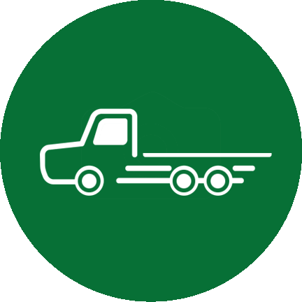 Trucking & Flat Bed Moves Icon